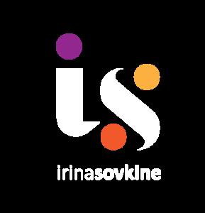 logo IS - Irina Sovkine - blanc © irina sovkine
